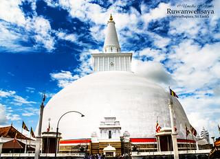 Ruwanwelisaya Anuradhapura - Sri Lanka