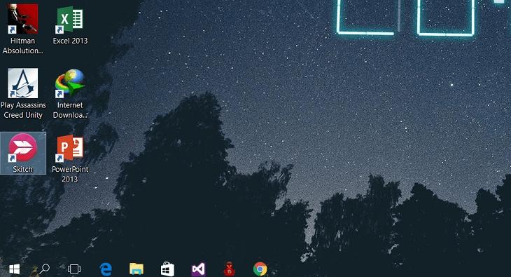 Hướng dẫn tạo thanh Taskbar trong suốt trên Windows - Cách tạo Taskbar trong suốt trên Windows 10