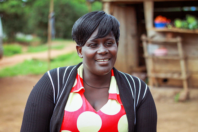 photo of women in Gomba