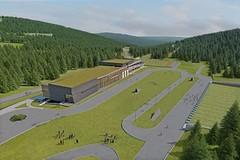 Sportovní areál v Jakuszycích v roce 2020