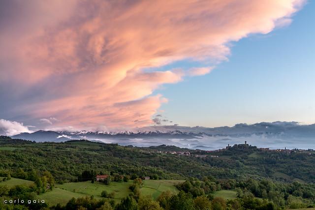 Murazzano Sunset, Nikon D7100, Sigma 18-35mm F1.8 DC HSM