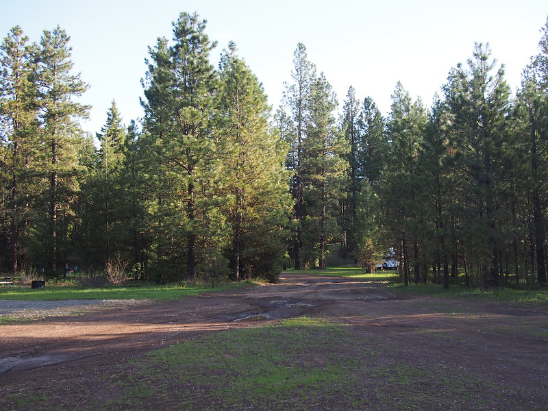 Camping Site 1: Teanaway Campground: This was the where we stayed Friday night.  It was pretty hard finding a good spot, as the good ones were closed for maintenance.