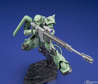 終於有架綠薩克!HG 1/144 《機動戰士鋼彈THE ORIGIN》MS-06C 薩克II C型/C-5型