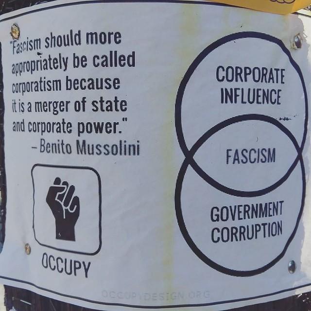 Header of corporatism
