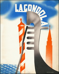 5833 PR La Gondola Venezia 1936.