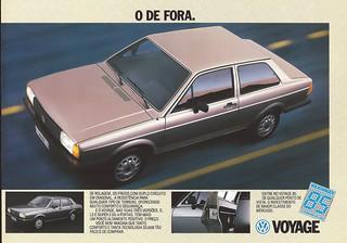 1985 Voyage, Brazil's Volkswagen
