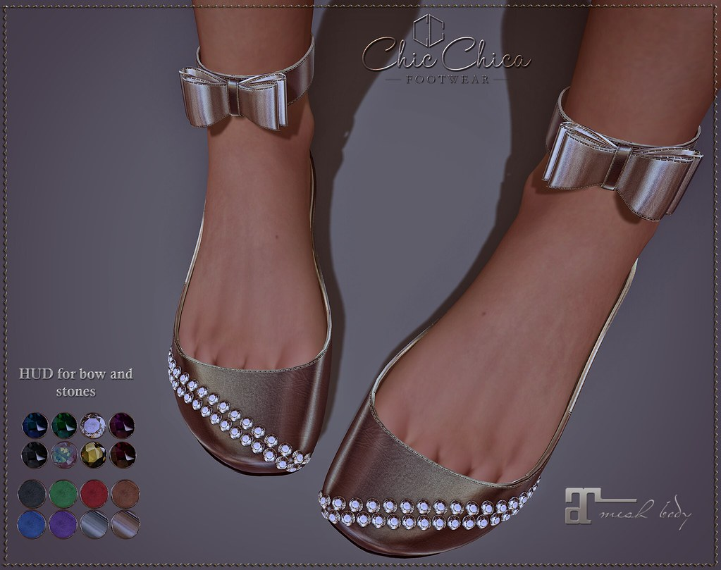 Etierre flats by ChicChica @ Enchantment soon - SecondLifeHub.com
