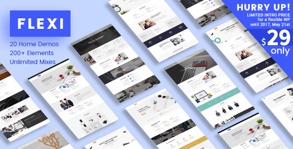 Flexi WP v2.2 - Flexible Responsive Multipurpose Theme