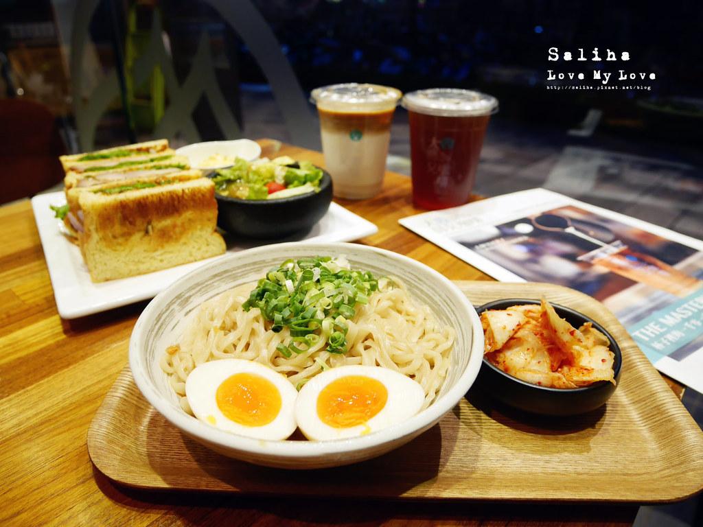 台北松山南京三民站附近餐廳推薦大師兄咖啡早午餐好吃麵 (15)