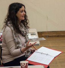Suffragettes project - rehearsal, 29 April - 17