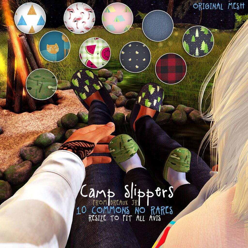 Camp Slippers Gacha
