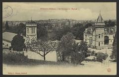 Peyrus (Drôme) - Le château et l'église