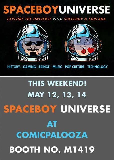 Spaceboy Universe Comicpalooza 2017