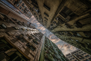 Towards the sky, Hong Kong