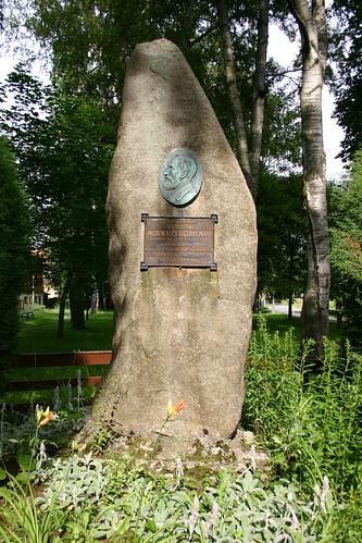 Denkmal für Hermann Blumenau in seiner Heimatstadt Hasselfelde
