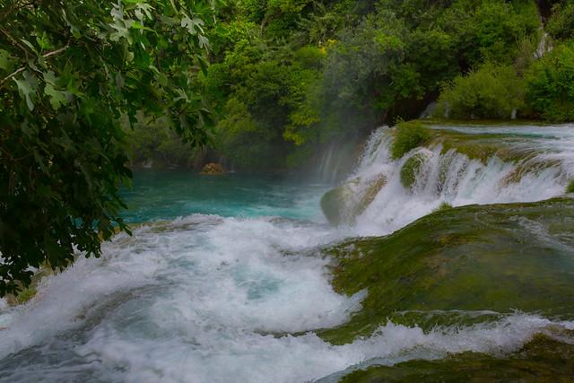 Croatia / Kroatien: Krka, Skradinski buk