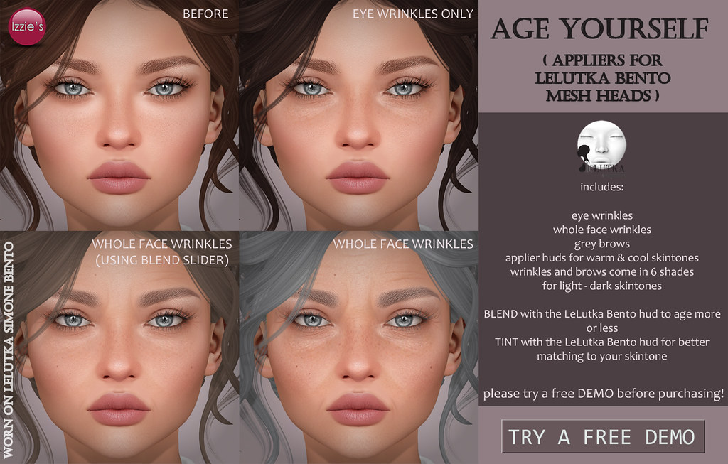 Age Yourself (LeLutka) for eBento - SecondLifeHub.com