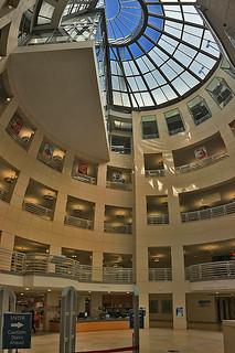 SF Public Library - Main branch lobby atrium