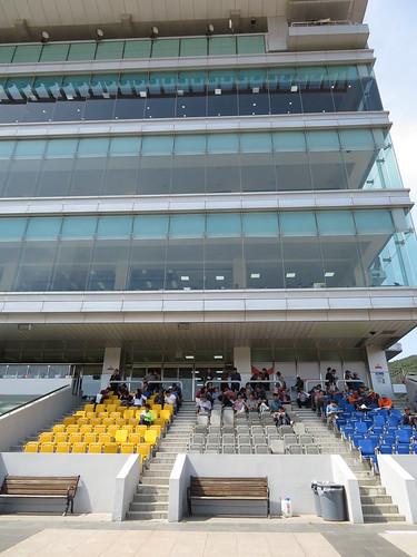 釜山慶南競馬場のスタンド階層