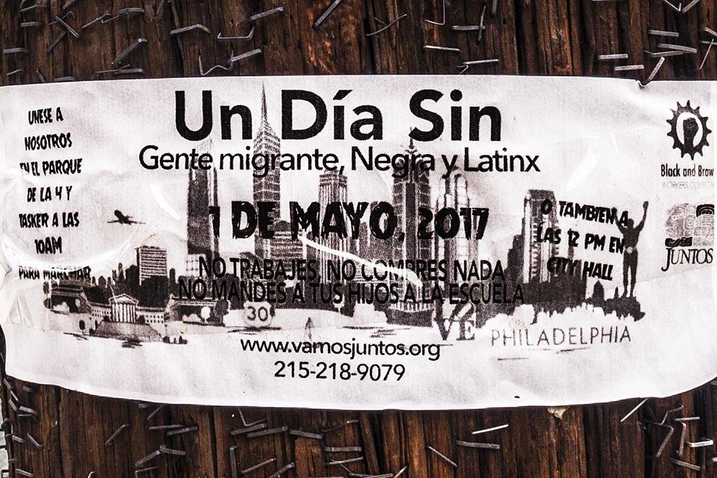Una Dia Sin migrante--Bella Vista (detail)