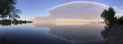 Salt Lake Sunrise Panorama