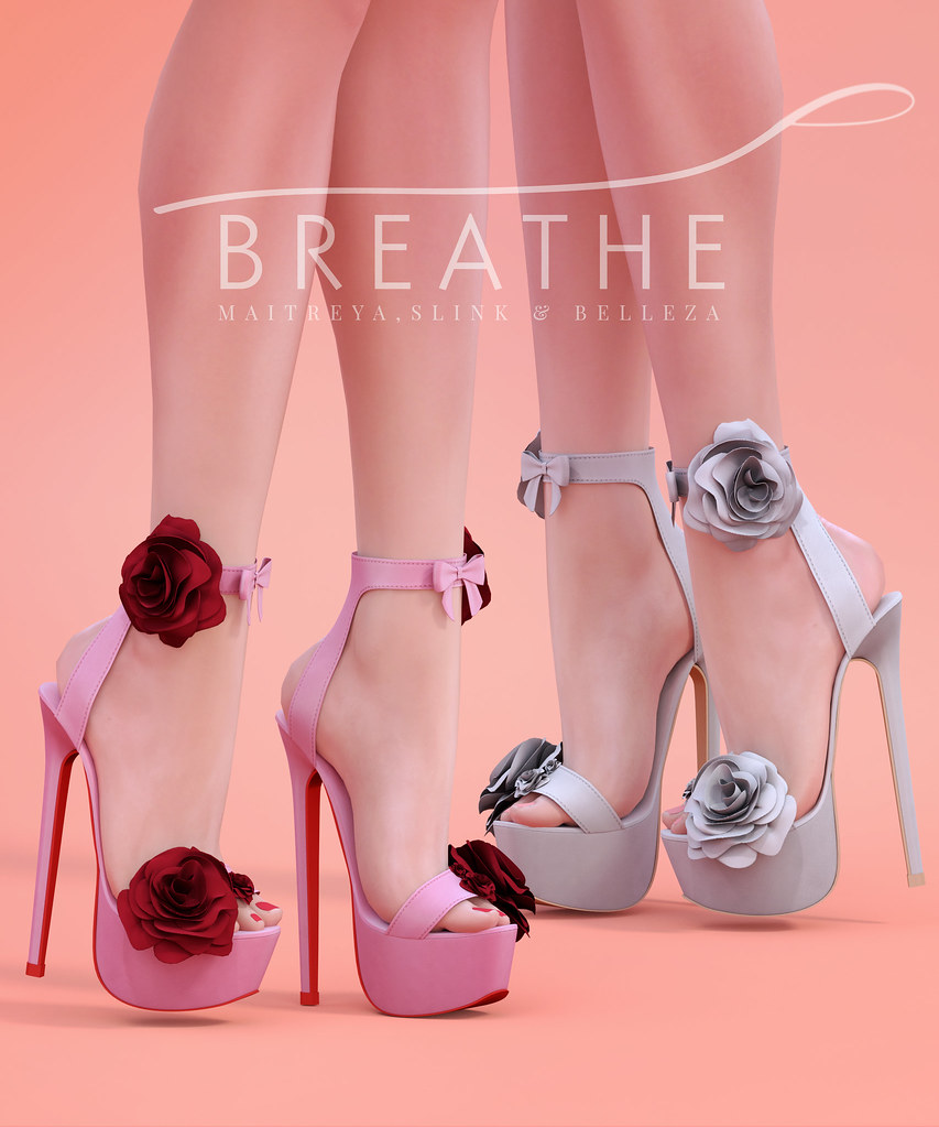 [BREATHE]-Rosalyn Heels - SecondLifeHub.com