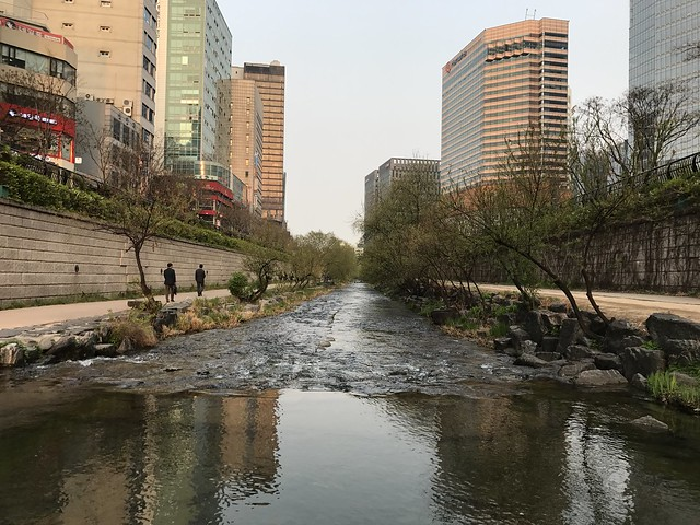 Cheonggyecheon Stream in Seoul
