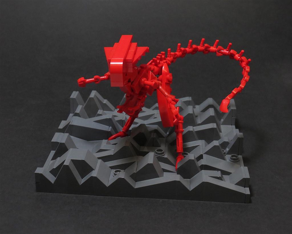 Red Queen (custom built Lego model)