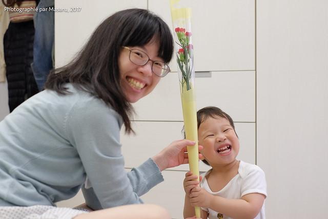 2017/5/13 Happy Mother's Day, Fujifilm X-E2, XF35mmF1.4 R