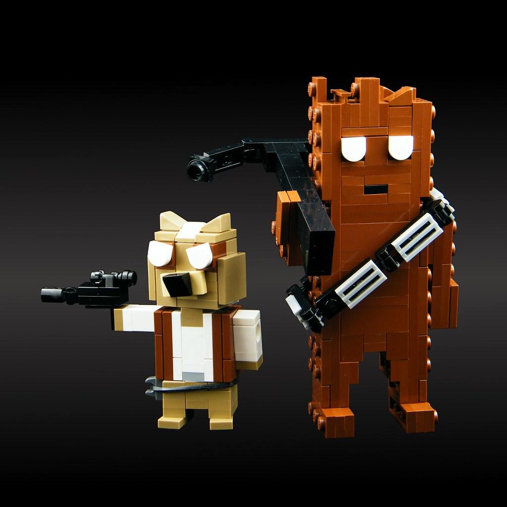 Guardians of the Galactic Republic (custom built Lego model)