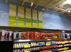 Dairy back wall décor
