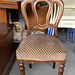 Mahogany spoon back chair E40