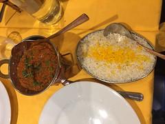 Keema matar - restaurant Raja (indien) à Colombes