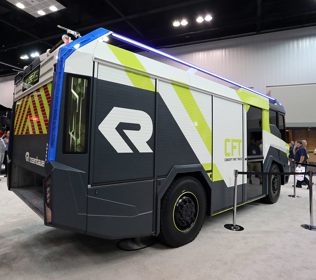 Rosenbauer Concept Fire Truck | adelaidefire | Flickr