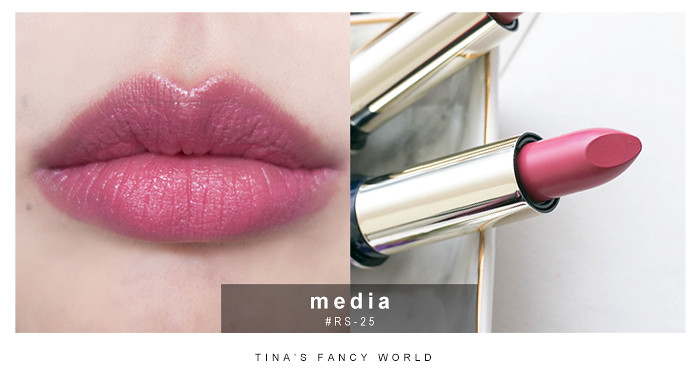 media 華麗玫瑰粉