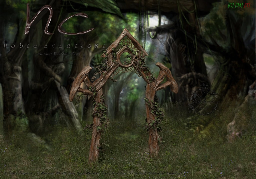 [NC] – Fantasy Wooden Arch – 2outOf2 The Old Fair