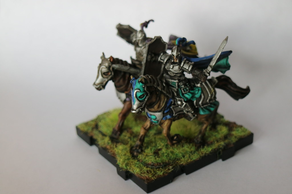 Runewars MIniatures Daqan Knights Front 2