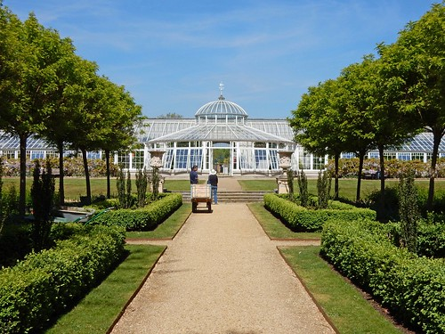 The Italian Garden & Conservatory at Chiswick House, London