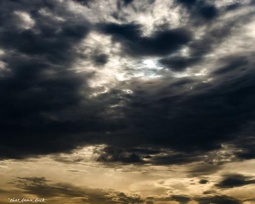 clouds sunset sundown