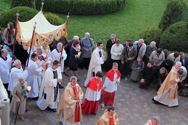 Archidiecezjalne obchody 100-lecia objawień Matki Bożej w Fatimie, Lublin, 13 V 2017