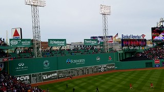 Fenway Park The Red Sox Win!