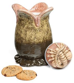 「就讓異形蛋幫你守護餅乾的安全吧!!」ThinkGeek【異形蛋餅乾罐】Alien Ovomorph Egg Cookie Jar