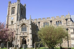 St. Mary's Church in Great Dunmow, Essex, England.