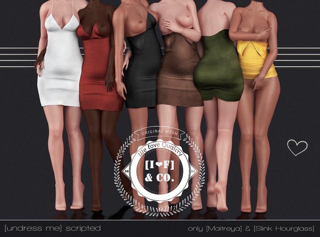 [I<3F] Dress [13] [undress me] @Romp - SecondLifeHub.com