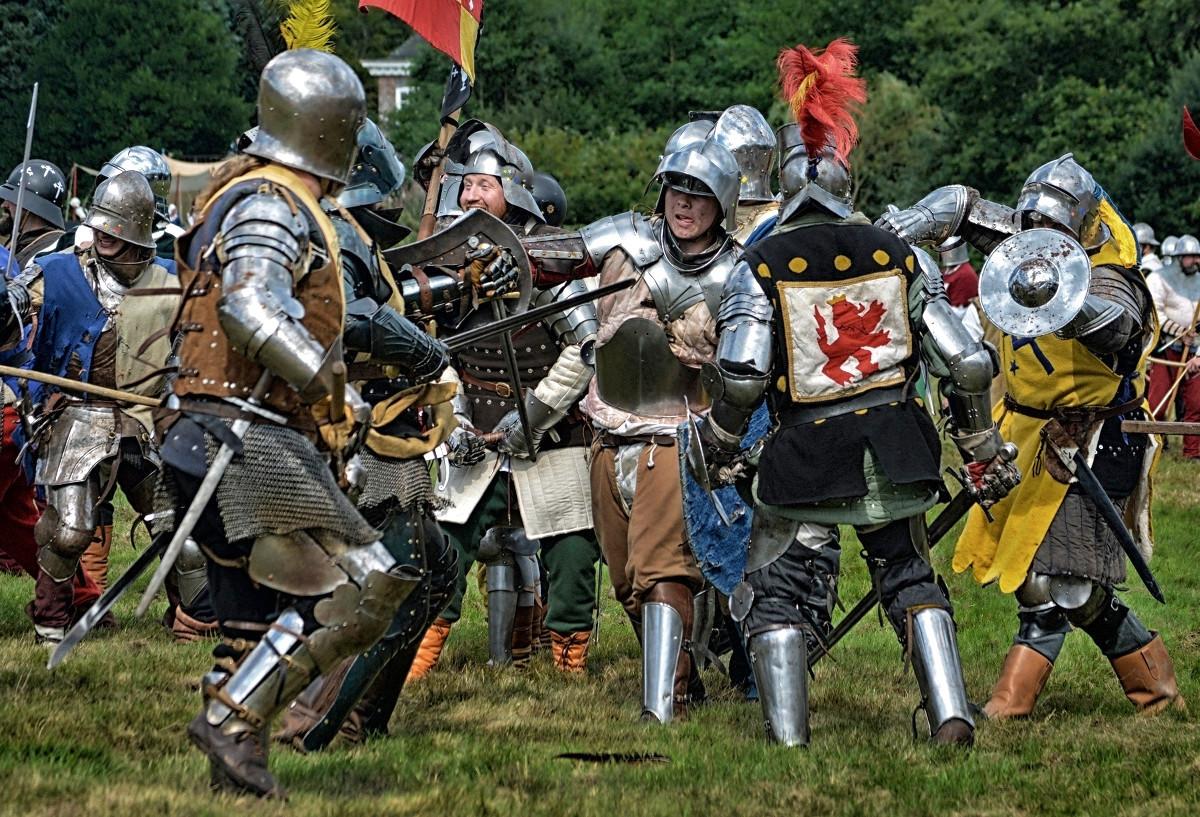 Herstmonceux Medieval Festival. Credit Vicki Burton