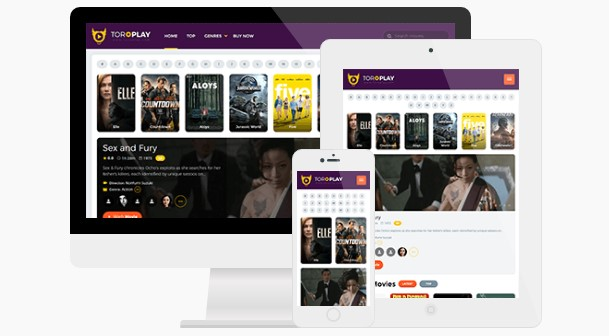 ToroPlay v1.0.4.3 - Best Theme for Online Movie Sites