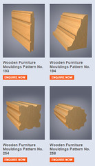 Timber Profiles - Furniture Mouldings