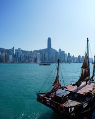 Junk #HongKong #MobilePhotography #LumixCM1