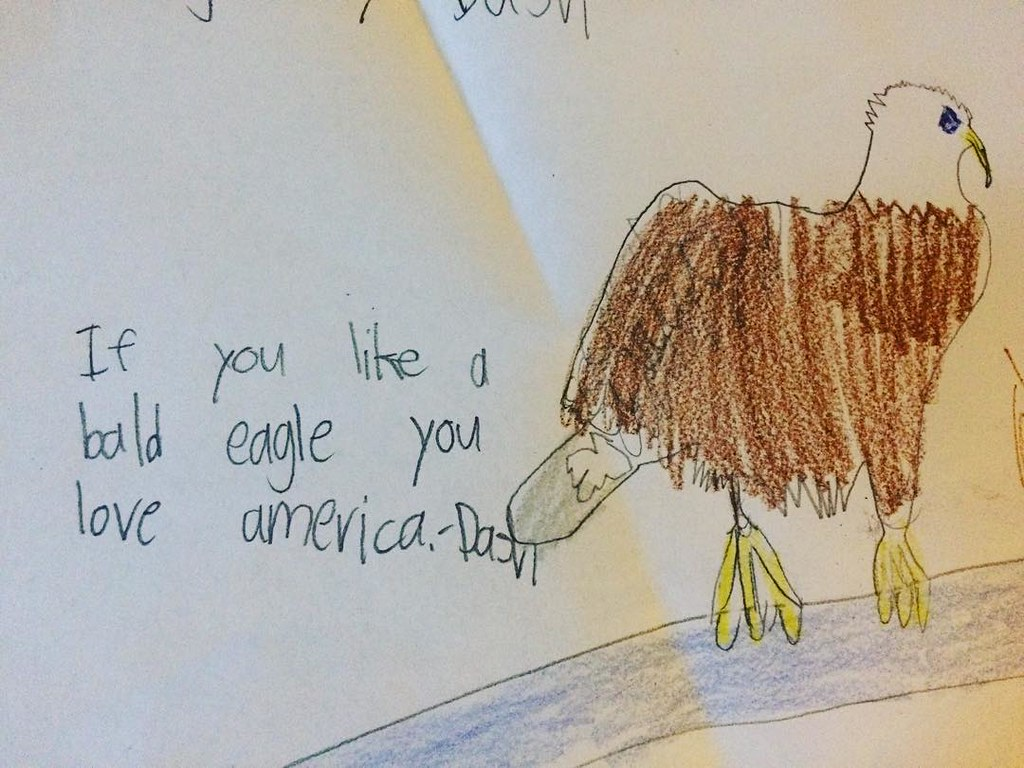 A winner I found in dash's school stack. America!