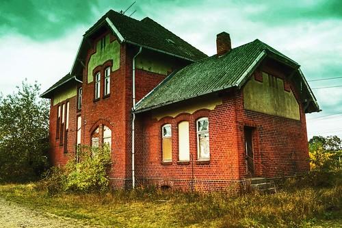 Kleiner Dorfbahnhof...